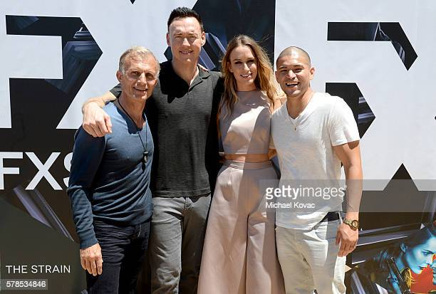 Actors Richard Sammel Kevin Durand Ruta Gedmintas and Miguel Gomez attend FXhibition during ComicCon International 2016 at Hilton Bayfront on July 21...