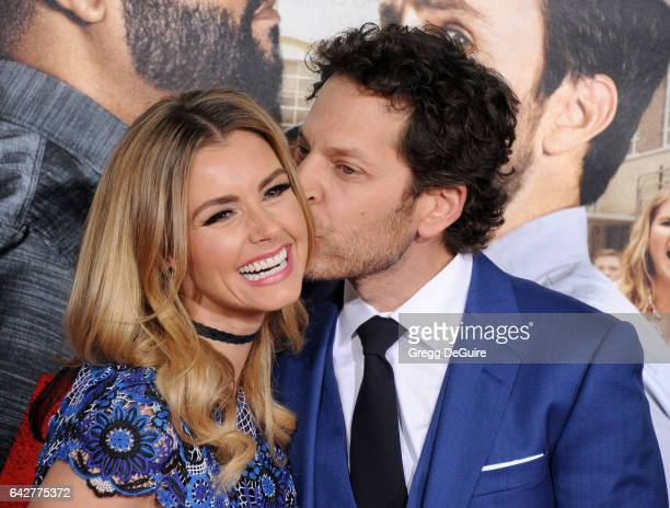 Actors Richie Keen and Brianna Brown arrive at the premiere of Warner Bros Pictures' Fist Fight at Regency Village Theatre on February 13 2017 in...