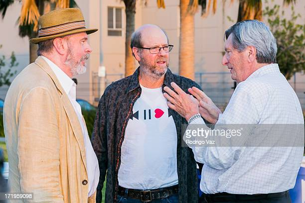 Actors Rick Overton and Stephen Tobolowsly and cinematographer John Bailey attend The Academy of Motion Picture Arts and Sciences hosts Oscars...