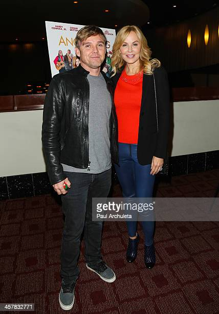 Actors Rick Schroder and Eloise Dejoria attend the screening of Angels Sing at ArcLight Cinemas on December 18 2013 in Hollywood California