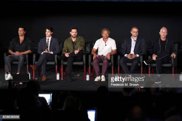 Actors Ricky Martin Darren Criss Edgar Ramirez Writer/Executive Producer Tom Rob Smith Executive Producer Brad Simpson and Creator/Executive Producer...