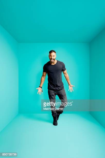 Actors Ricky Whittle from American Gods is photographed for Entertainment Weekly Magazine on July 21 2017 at Comic Con in San Diego California...