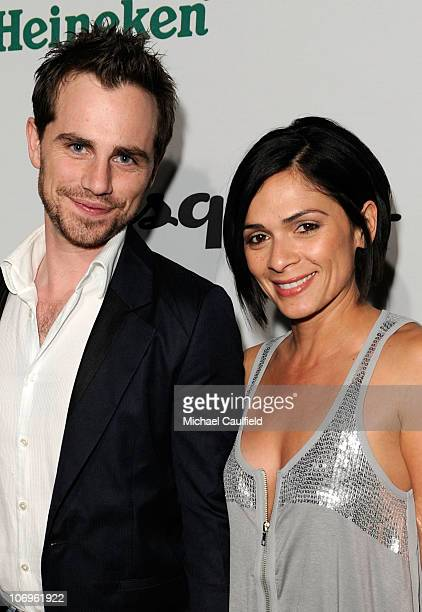 Actors Rider Strong and Alexandra Barreto arrive at 'The Oxfam Party' hosted by Oxfam America and Esquire House LA held at Esquire House LA on...