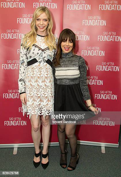 """Actors Riki Lindhome and Natasha Leggero attend SAG-AFTRA Foundation's Conversations with """"Another Period"""" at SAG-AFTRA Foundation Screening Room on..."""