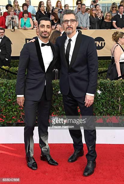 Actors Riz Ahmed and John Turturro attend The 23rd Annual Screen Actors Guild Awards at The Shrine Auditorium on January 29 2017 in Los Angeles...
