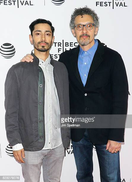 Actors Riz Ahmed and John Turturro attend the Tribeca Tune In 'The Night Of' during the 2016 Tribeca Film Festival at SVA Theatre on April 22 2016 in...