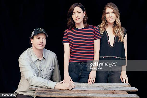 Actors Rob Huebel and Lily Rabe with Writer/Director Julia Hart 'Miss Stevens' are photographed for The Wrap on March 13 2016 in Austin Texas