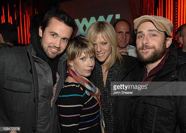 Actors Rob McElhenney, Mary Elizabeth Ellis, Kaitlin Olson, and Charlie Day attend Elridge Club Late Nights at Hollywood Life House on January 20,...