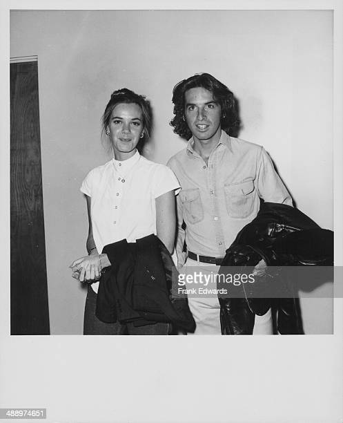 Actors Robert Carradine and Anne Lockhart attending the premiere of their new movie 'Joyride' Hollywood California May 1977