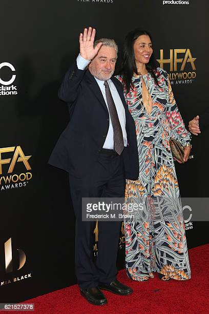 Actors Robert De Niro and Drena De Niro attend the 20th Annual Hollywood Film Awards on November 6 2016 in Beverly Hills California