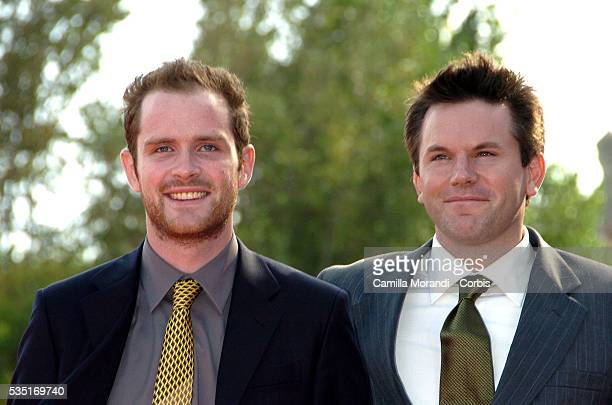 Actors Robert Devaney and Patrick Carroll arrive at the premiere of Redacted during the 64th annual Venice Film festival
