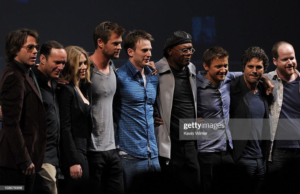 "Marvel Studios' ""Captain America: The First Avenger"" - Panel - 2010 Comic-Con : News Photo"