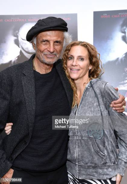 Actors Robert Miano and Silvia Miano Spross attend the premiere of Get Gone at Arena Cinelounge on January 24 2020 in Hollywood California