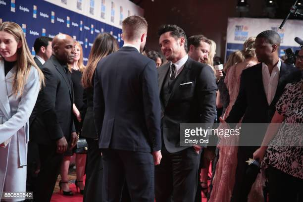 Actors Robert Pattinson and James Franco attend IFP's 27th Annual Gotham Independent Film Awards on November 27 2017 in New York City