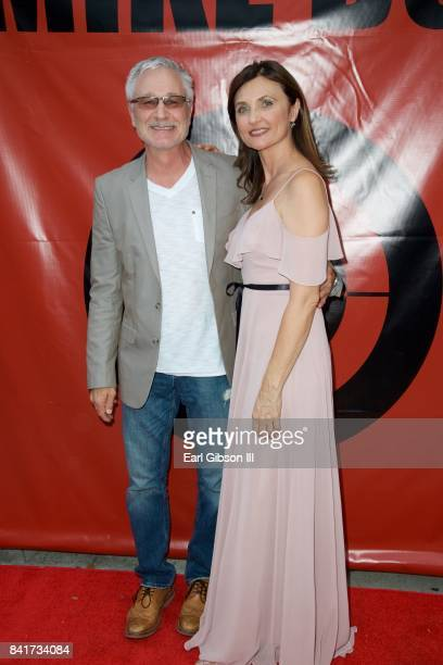 Actors Robert Sisko and Natasha Goubskaya attend the Premiere Of HT Pictures Mike Boy at Laemmle Music Hall on September 1 2017 in Beverly Hills...