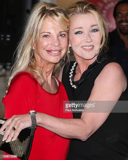 Actors Roberta Leighton and Melody Thomas Scott attend The Young And The Restless celebrating 10000 episodes at The Paley Center for Media on August...