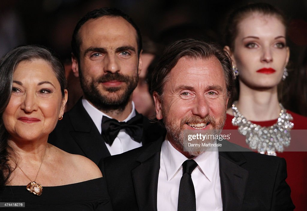 Actors Robin Bartlett (L) and Tim Roth attend the 'Chronic' Premiere during the 68th annual Cannes Film Festival on May 22, 2015 in Cannes, France.