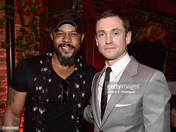 Actors Rockmond Dunbar and Hugh Dancy attend the after party for the premiere of Hulu's 'The Path' at ArcLight Hollywood on March 21 2016 in...