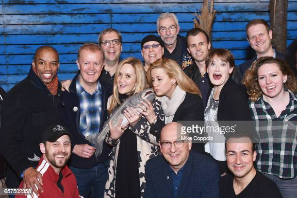 Actors Rodney Hicks Lee MacDougall from the cast of 'Come From Away' Television host/comedian Samantha Bee Actress/writer Allana Harkin Actors...