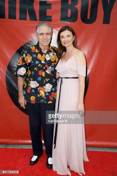 Actors Ron Gilbert and Natasha Goubskaya attend the Premiere Of HT Pictures Mike Boy at Laemmle Music Hall on September 1 2017 in Beverly Hills...
