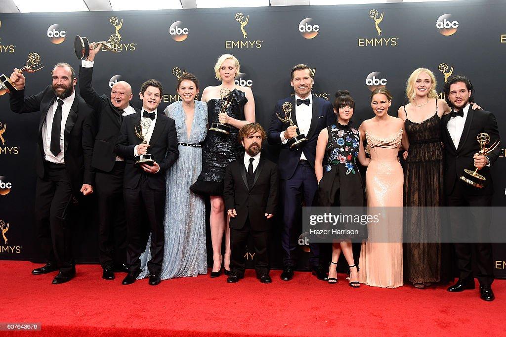 68th Annual Primetime Emmy Awards - Press Room : Nachrichtenfoto