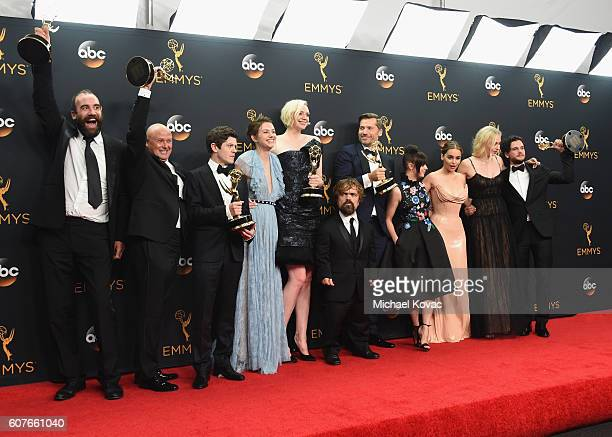 Actors Rory McCann Conleth Hill Iwan Rheon Gwendoline Christie Peter Dinklage Nikolaj CosterWaldau Maisie Williams Emilia Clarke Sophie Turner and...