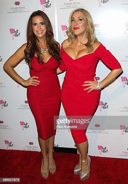 Actors Rosa Blasi and Lisa Ann Walter attend the 10th Anniversary of What A Pair Benefit Concert at Saban Theatre on May 31 2014 in Beverly Hills...