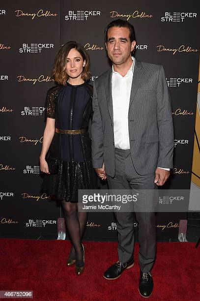 Actors Rose Byrne and Bobby Cannavale attend the Danny Collins New York premiere at AMC Lincoln Square Theater on March 18 2015 in New York City