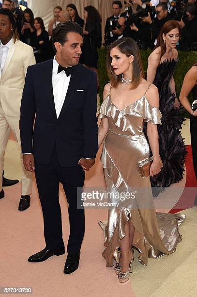 Actors Rose Byrne and Bobby Cannavale attend the Manus x Machina Fashion In An Age Of Technology Costume Institute Gala at Metropolitan Museum of Art...