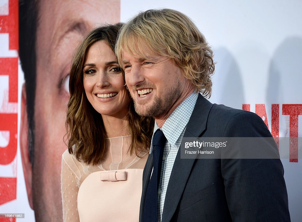Actors Rose Byrne (L) and Owen Wilson arrive at the premiere of Twentieth Century Fox's 'The Internship' at Regency Village Theatre on May 29, 2013 in Westwood, California.