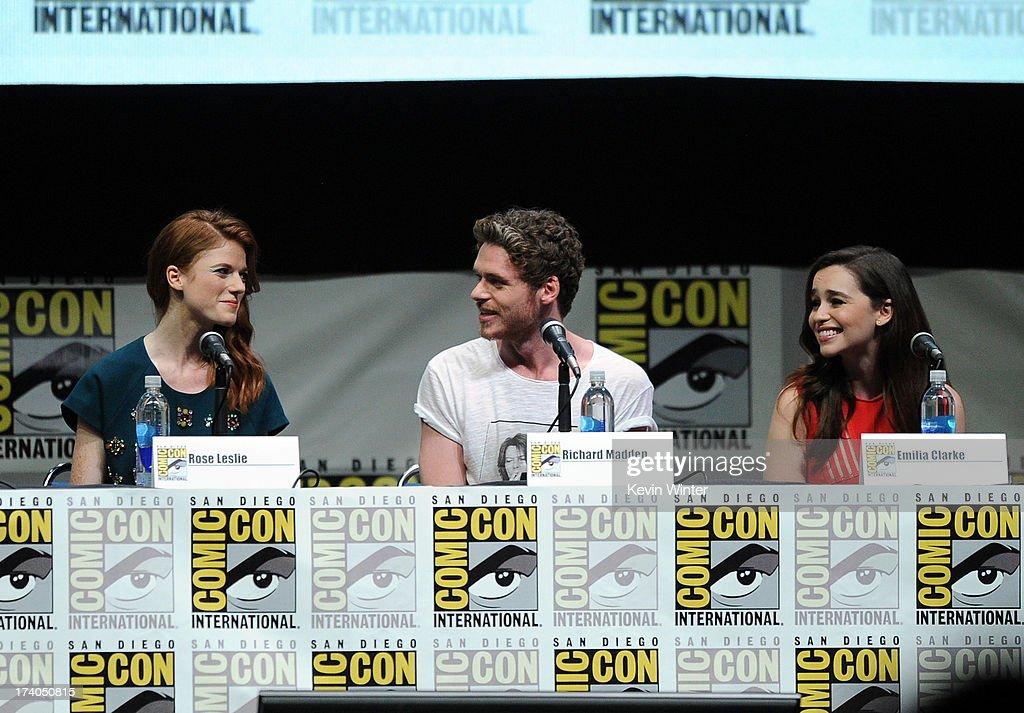 """Game Of Thrones"" Panel - Comic-Con International 2013 : News Photo"