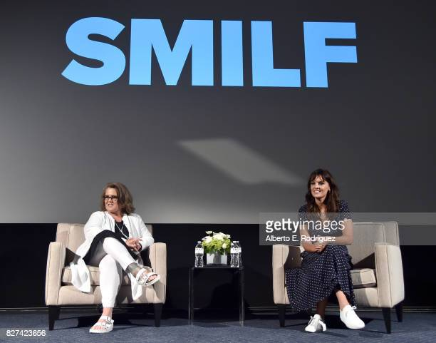 Actors Rosie O'Donnell and Frankie Shaw of 'SMILF' speak onstage at the Showtime portion of the 2017 Summer Television Critics Association Press Tour...