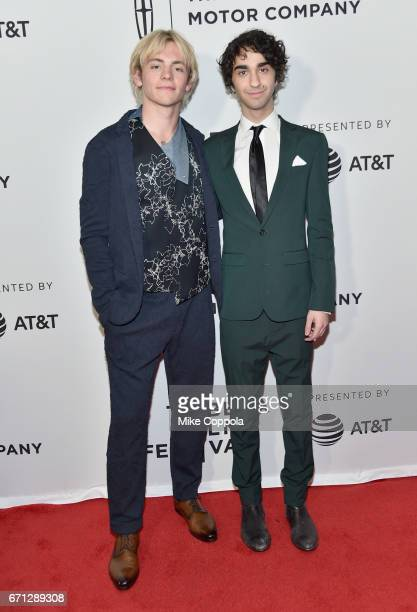 Actors Ross Lynch and Alex Wolff attend the 'My Friend Dahmer' Premiere during 2017 Tribeca Film Festival at Cinepolis Chelsea on April 21 2017 in...