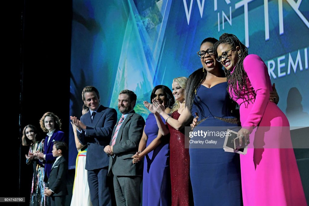 World Premiere of Disney's 'A Wrinkle In Time' : ニュース写真