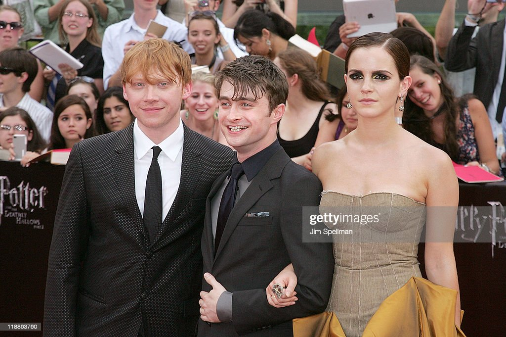 """""""Harry Potter And The Deathly Hallows - Part 2"""" New York Premiere - Outside Arrivals"""