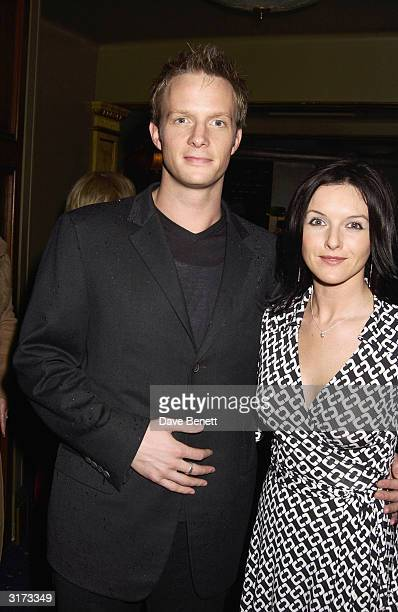 Actors Rupert Penry-Jones and Dervla Kirwan during the After-Party for the Royal Charity Premiere of 'Charlotte Gray' in aid of the Prince's Trust at...