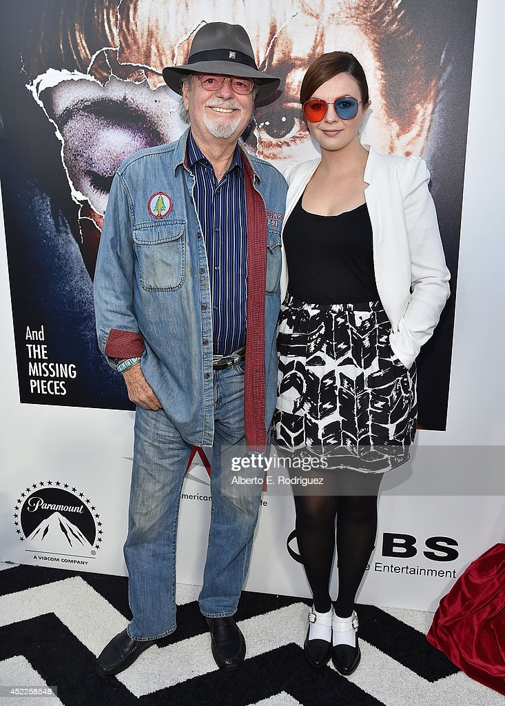 Actors Russ Tamblyn and Amber Tamblyn arrive to The American Film Institute Presents 'Twin Peaks-The Entire Mystery' Blu-Ray/DVD Release Screening at the Vista Theatre on July 16, 2014 in Los Angeles, California.