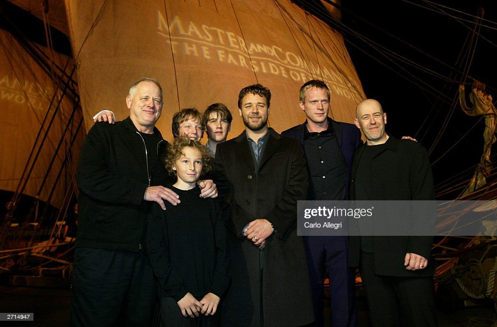 San Diego Premiere of 'Master and Commander:  The Far Side of the World' : News Photo