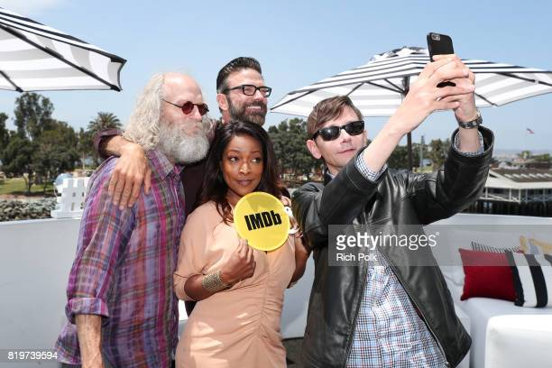 Actors Russell Hodgkinson Keith Allan Kellita Smith and DJ Qualls at the #IMDboat At San Diego ComicCon 2017 on the IMDb Yacht on July 20 2017 in San...