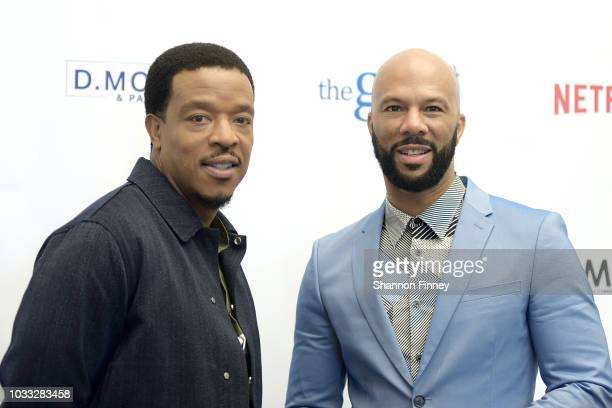 Actors Russell Hornsby and Common discuss their upcoming motion picture 'The Hate You Give' during the 'Diversity in the Media Industry State of the...