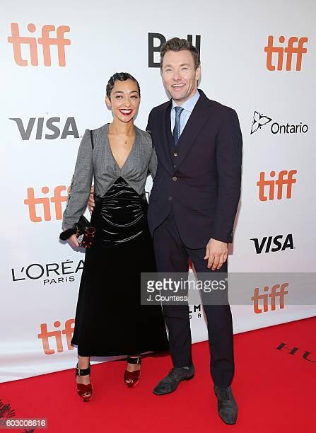 Actors Ruth Negga and Joel Edgerton arrive at the 2016 Toronto International Film Festival Premiere of Loving at Roy Thomson Hall on September 11...