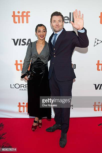 Actors Ruth Negga and Joel Edgerton attend the premiere of Loving during the 2016 Toronto International Film Festival at Roy Thomson Hall on...