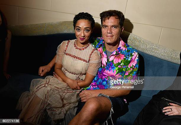 Actors Ruth Negga and Michael Shannon attend the Hollywood Foreign Press Association and InStyle's annual celebration of the Toronto International...