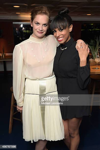 Actors Ruth Wilson and Nicolette Robinson attend premiere of SHOWTIME drama 'The Affair' held at North River Lobster Company on October 6 2014 in New...