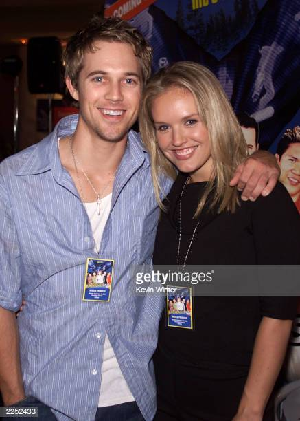 Actors Ryan Browning and Cassidy Rae at the premiere of Extreme Days at The Bridge Theater in Los Angeles Ca 9/24/01 Photo by Kevin Winter/Getty...