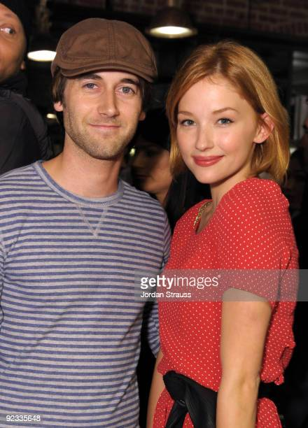 Actors Ryan Eggold and Haley Bennett attend Todd DiCiurcio Heartstrings Hosted By Ed Westwick At Confederacy And Sponsored By RagBone at Confederacy...
