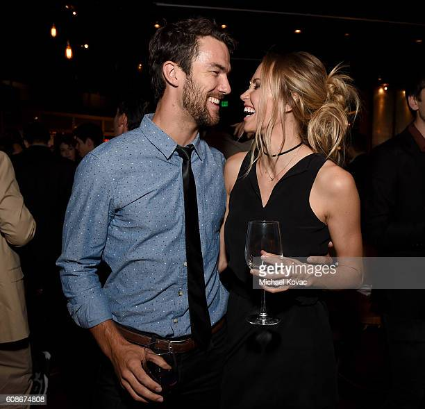 Actors Ryan Gunnarson and Aqueela Zoll attend the Los Angeles Premiere of Go90 Studio and Studio 71's 'Rush Inspired by Battlefield' on September 19...