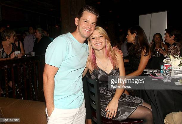 Actors Ryan Lane and Ashley Fiolek attend the 10th Annual GLAD Benefit in support of equal access for the deaf and hard of hearing hosted by Ken...