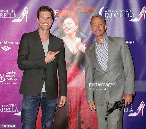 Actors Ryan McPartlin and Peter Marc Jacobson attend 'Rodgers Hammerstein's Cinderella' Los Angeles Opening Night at Ahmanson Theatre on March 18...
