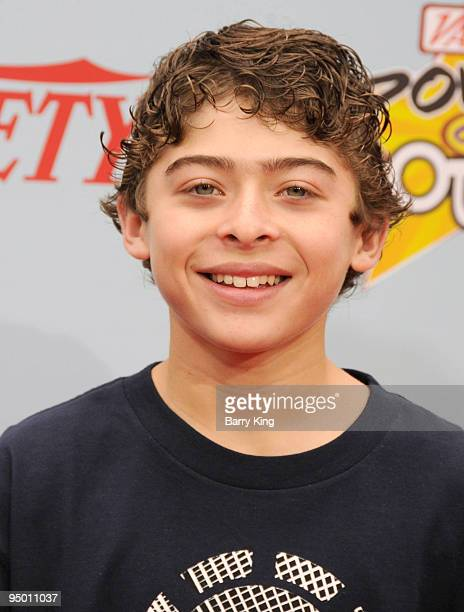 ACtors Ryan Ochoa arrives to Variety's 3rd Annual Power of Youth event held at the Paramount Studios backlot on December 5 2009 in Los Angeles...